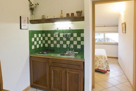 colombaia cucina + camera