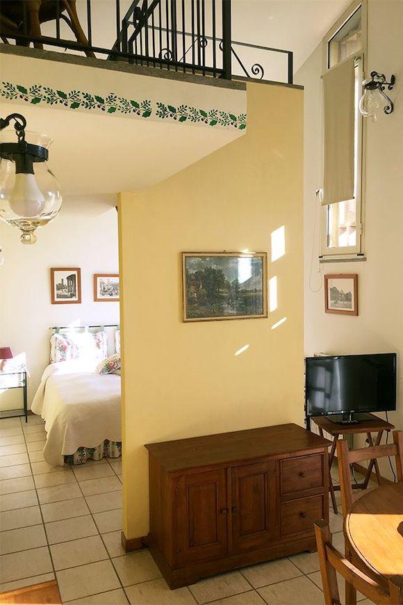 quercia camera + soggiorno